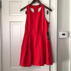 LuLu's Dress Red Large Gorgeous Back NWT